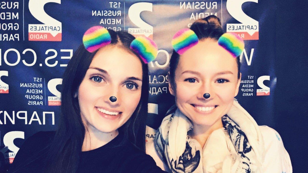 Анастасия Рикеза и Анна Кулагина