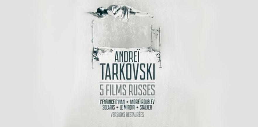 5 реставрированных копий фильмов Андрея Тарковского на русском языке с французскими субтитрами