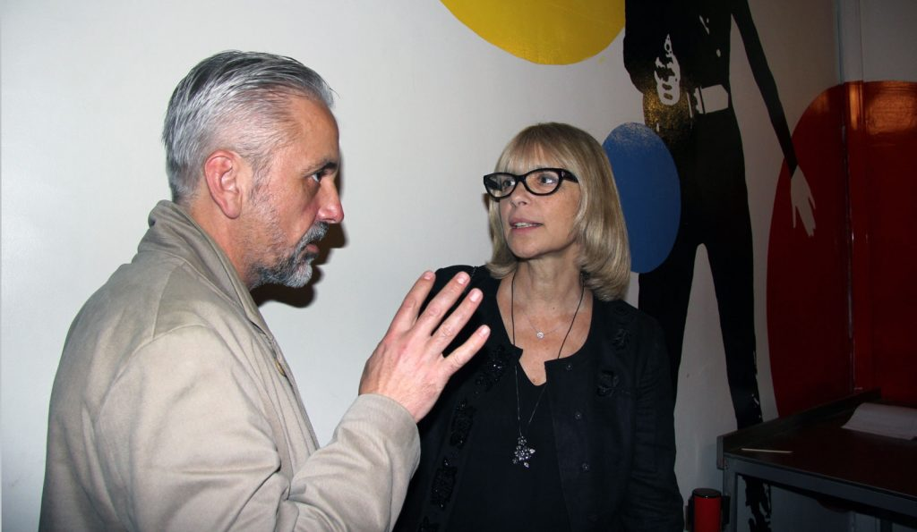 Вера Глаголева - Две женщины - одного режиссёра. Единственное интервью Веры Глаголевой в Париже.